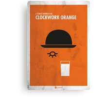 Clockwork Orange Film Poster Canvas Print