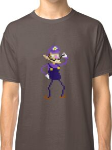 Waluigi Pixel Art Graphic Classic T-Shirt