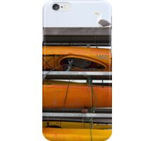 Seagull and Kayaks at AT&T Park San Francisco iPhone Case/Skin