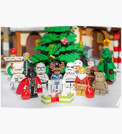 Star Wars Group Photo Poster