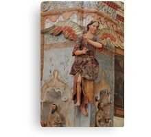 Angel at Mission San Xavier del Bac Canvas Print
