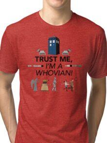 Whovian Tri-blend T-Shirt