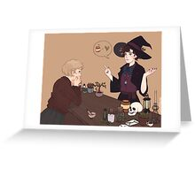 Femlock Witch Shop Greeting Card