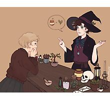 Femlock Witch Shop Photographic Print