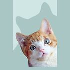 Charlie the kitten iphone case  by wsellers