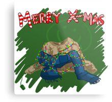 221B Christmas Metal Print