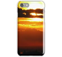 Chico, CA Sunset iPhone Case/Skin