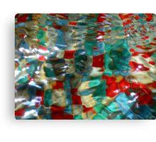 Abstract Fountain Canvas Print
