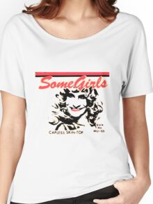 Some Girls The Rolling Stones Women's Relaxed Fit T-Shirt