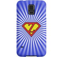 Z letter in Superman style Samsung Galaxy Case/Skin