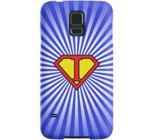 I letter in Superman style Samsung Galaxy Case/Skin