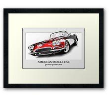Corvette 1959 Framed Print