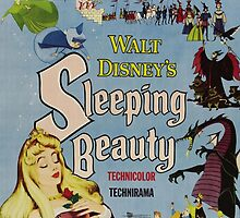 sleeping beauty movie poster by emilyg23