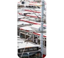 Muni Bus Scape iPhone Case/Skin