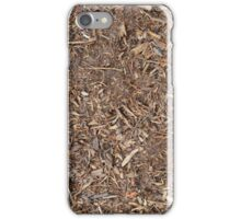 "Real Tree Design for Hunting & Shooting ""Mulch"" #1 iPhone Case/Skin"