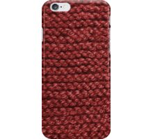 Keep Warm in Red iPhone Case/Skin