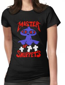 Master of Shuppets Womens Fitted T-Shirt
