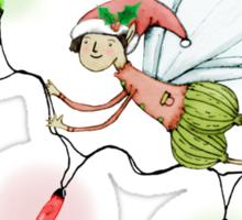 The Christmas Fairy Sticker