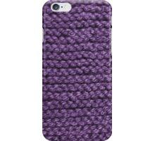 Keep Warm in Purple iPhone Case/Skin