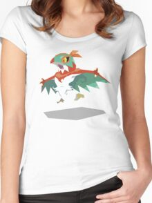 Cutout Hawlucha Women's Fitted Scoop T-Shirt