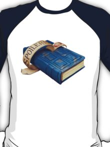 Spoilers, River Song's Tardis Journal T-Shirt