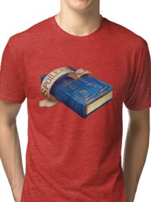 Spoilers, River Song's Tardis Journal Tri-blend T-Shirt