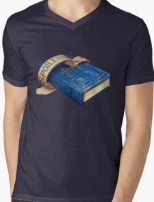 Spoilers, River Song's Tardis Journal Mens V-Neck T-Shirt