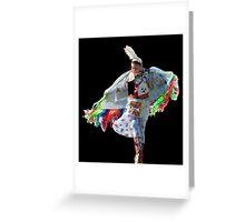 Shawl Dance Greeting Card