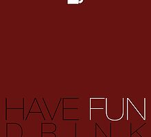 Have Fun and Drink Coffee! by IamBlueLion
