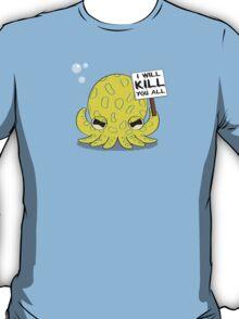 Deathly Cute - Blue Ring Fill T-Shirt