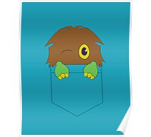 Kuriboh in a pocket (Yu-Gi-Oh!) Poster