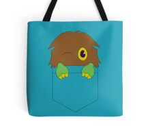 Kuriboh in a pocket (Yu-Gi-Oh!) Tote Bag