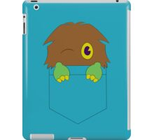 Kuriboh in a pocket (Yu-Gi-Oh!) iPad Case/Skin