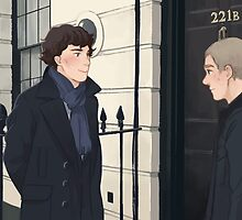The Address is 221B Baker Street by cloudmelon