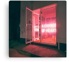 // CHANGE OF HEART // Canvas Print