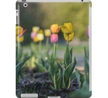 Summer tulips iPad Case/Skin