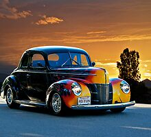 1940 Ford '4D Fun' Deluxe Coupe by DaveKoontz