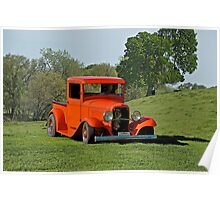 1932 Ford 'Ranch Hand' Pick Up  Poster