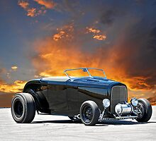 1932 Ford 'Black Widow' Roadster II by DaveKoontz
