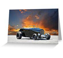 1932 Ford 'Black Widow' Roadster II Greeting Card