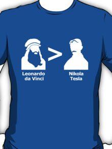 da Vinci > Tesla T-Shirt