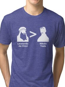 da Vinci > Tesla Tri-blend T-Shirt