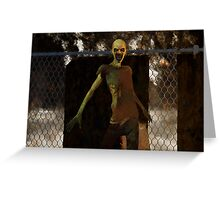 Zombie - Undead Horror Greeting Card