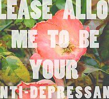 anti-depressant by Finnian Wilder