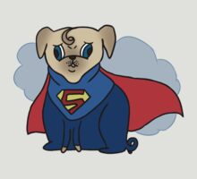 Superman Pug by yunnn