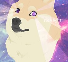 Doge - such galaxy by Samantha Royle