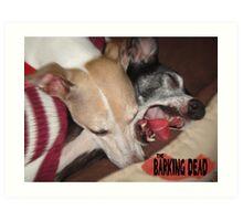 The Barking Dead Art Print