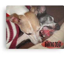The Barking Dead Metal Print