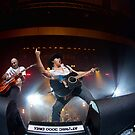 Lee Kernaghan and Nick Wolfe by Malcolm Katon