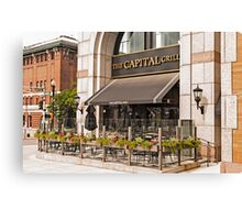 BOSTON RESTAURANT Canvas Print